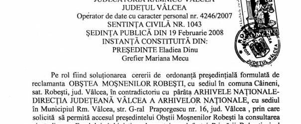 Conjuraţii spiţei de neam român